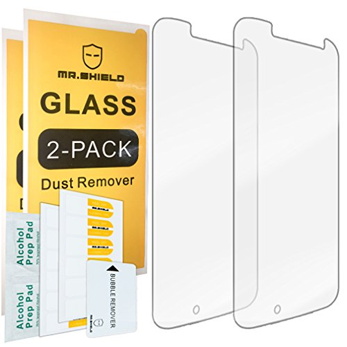 [2-PACK]-Mr.Shield For Motorola Moto G4 / Moto G (4th Generation) [Tempered Glass] Screen Protector with Lifetime Replacement