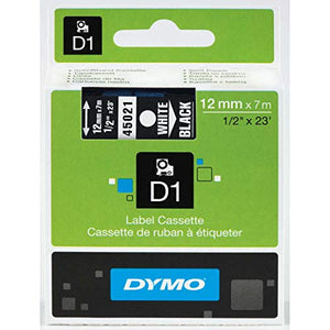 DYMO High-Performance Permanent Self-Adhesive D1 Polyester Tape for Label Makers