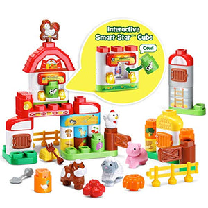 LeapFrog LeapBuilders Food Fun Family Farm, Multicolor