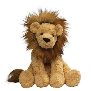 "Gund 4059962 Cozys Collection Lion Stuffed Animal Plush, 10"", Tan"