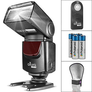 Altura Photo Ap-Unv1 Bundle Dslr Camera Flash Speedlite For Canon Nikon