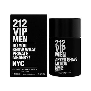 Carolina Herrera 212 Vip After Shave Lotion For Men 3.4 Oz