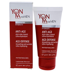 YON-KA PARIS For Men Age-Defense Gel-Cream, 1.4 Oz.