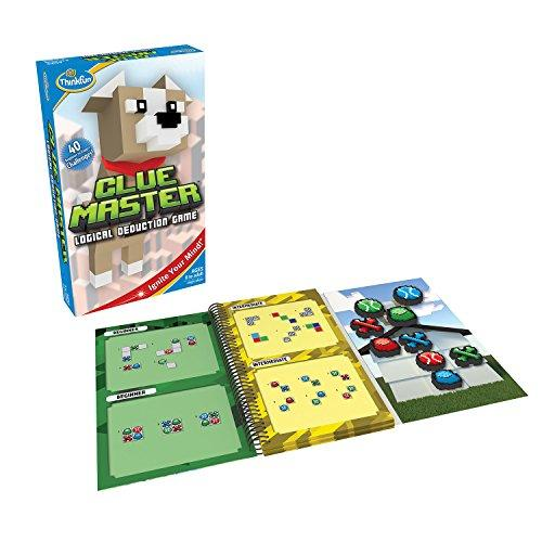 Thinkfun Clue Master Logic Game And Stem Toy