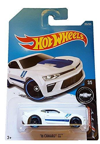 Hot Wheels 2017 Camaro Fifty '16 Camaro Ss 265/365, White