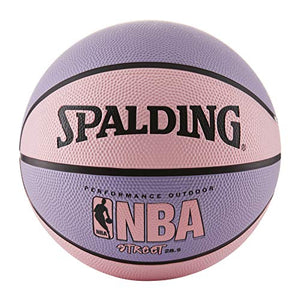 Spalding NBA Street Pink Outdoor Basketball