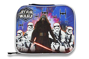 Disney 14585 Star Wars S7Cor03Za Rectangular Lunch Bag, Blue