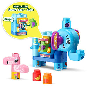 LeapFrog LeapBuilders Fruit Fun Elephant, Multicolor