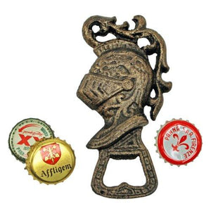 Design Toscano Regal Knight Beverage Opener, Gold