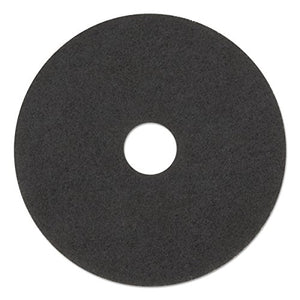 3M - 48011083792 Black Stripper Pad 7200, 17 in, 5/Case