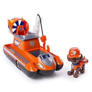 Paw Patrol Ultimate Rescue - Zuma'S Ultimate Rescue Hovercraft With Moving Propellers & Rescue Hook