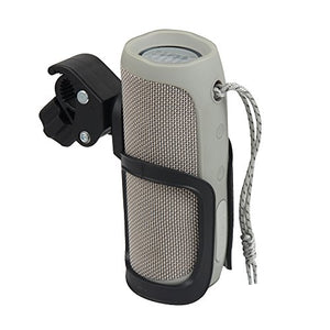 Hermitshell Hard Bike Mount Holder with Clamp Fits JBL Flip 5/4 / 3 Bluetooth Speaker