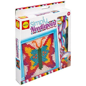 ALEX Toys Craft Simply Needlepoint - Butterfly (395-B)