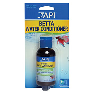 Api Betta Water Conditioner Betta Fish Freshwater Aquarium Water Conditioner 1.7-Oz Bottle