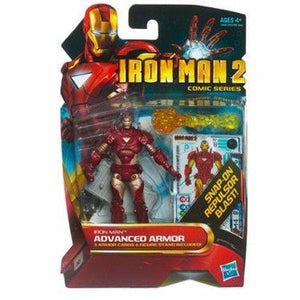Hasbro Iron Man 2 Comic Series Iron Man Advanced Armor Action Figure #32