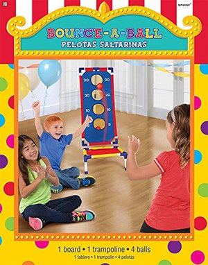 Amscan 270189 Bounce A Ball Game, One Size, Multicolor