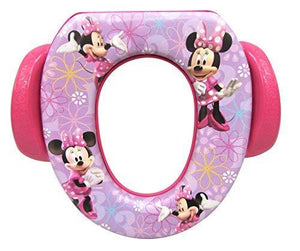 "Disney Minnie Mouse ""Bowtique"" Soft Potty Seat, Purple"