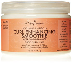 SheaMoisture Coconut & Hibiscus Curl Enhancing Smoothie, 12 Oz by Shea Moisture