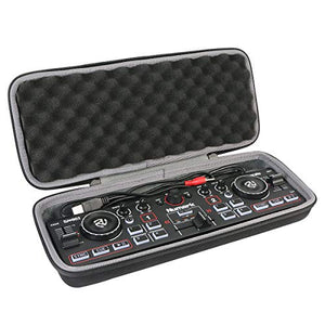 co2crea Hard Travel Case for Numark DJ2GO2 | Pocket DJ Controller