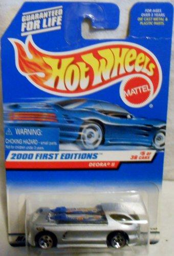 Mattel Hot Wheels 2000 First Editions 1:64 Scale Silver Deora Ii Die Cast Car #005