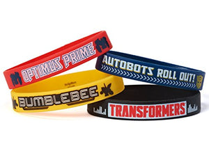 Transformers Rubber Bracelets, Party Favor
