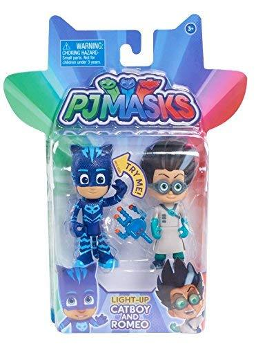 Just Play Pj Masks 2-Pack Light Up Figures Catboy Vs. Romeo