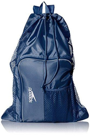 Speedo Deluxe Ventilator Mesh Equipment Bag, Insignia Blue