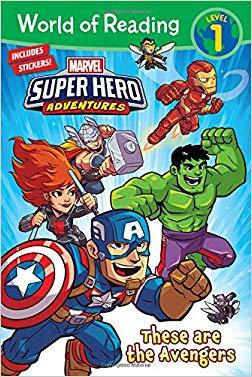 World of Reading Marvel Super Hero Adventures: These are the Avengers (Level 1)