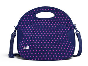 BUILT Spicy Neoprene Gourmet Relish Lunch Tote, One Size, Navy