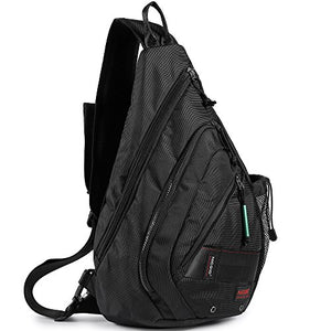 Sling Bag Backpack, Sling Shoulder Bags 13.3-Inch Laptop Travel Outdoors Daypack