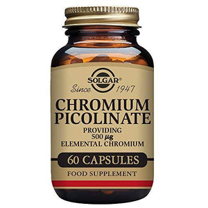 Solgar‰â‰ÛÏ Chromium Picolinate 500 Mcg, 60 Vegetable Capsules