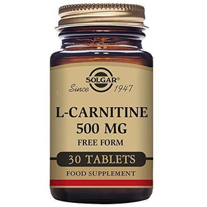 Solgar åÛåہÕ L-Carnitine 500 Mg, 30 Tablets