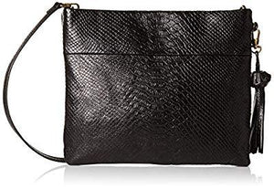 The Sak The Collective Tomboy Convertible Clutch-Exotic, Black Onyx