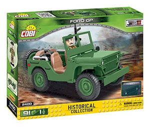 COBI Historical Collection Ford GP Vehicle, Green