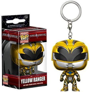 Funko Pop Keychain: Power Rangers Yellow Ranger Toy Figure