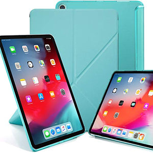 Khomo Horizontal And Vertical Display Stand Capable Cover For Ipad Pro 12.9 Inch Case 3Rd Generation (Released 2018) - Dual Origami Series - Green