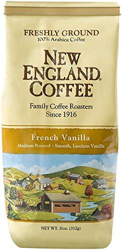 New England Coffee, French Vanilla, 11 Oz Bag