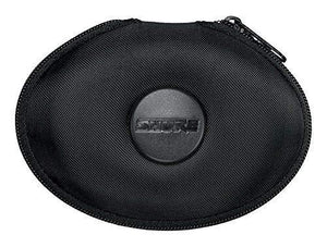 Shure Eahcase Fine Weave Hard Pouch For Shure Earphones - Black