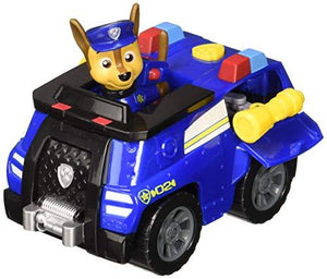 Paw Patrol, Chase'S Transforming Police Cruiser With Flip-Open Megaphone, For Ages 3 And Up