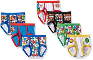 Marvel Boys' Toddler 7-Pack Superhero Adventures Brief Underwear, Super Hero/Multi 4T