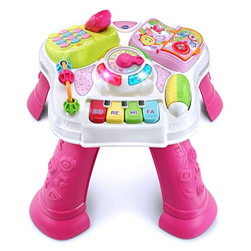 VTech Sit-To-Stand Learn & Discover Table, Pink