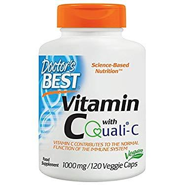 Doctor'S Best Vitamin C -- 1000 Mg - 120 Veggie Caps