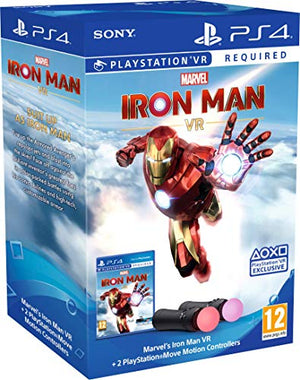 Sony Marvel'S Iron Man Vr Playstation Move Controller Bundle (Psvr Required)
