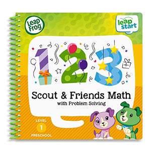 LeapFrog LeapStart 3D Scout & Friends Math Book