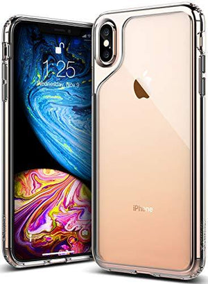 Caseology [Waterfall Series] Iphone Xs Max Case - [Transparent/Minimal] - Clear
