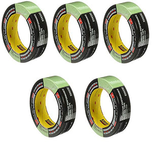 3M 03433 36 mm x 32 m Automotive Performance Masking Tape, 5 Pack