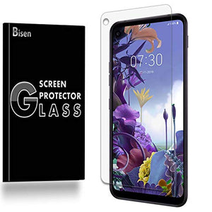 [3-Pack BISEN] Fit for LG Q70 Screen Protector Tempered Glass, Anti-Scratch, Anti-Fingerprint, Anti-Bubble, Lifetime Protection