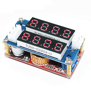 Gump's grocery 5A Adjustable CC/CV Display Step Down Charge Module LED Panel Voltmeter Ammeter