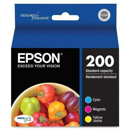 Epson Ink Cartridge, Standard Capacity, Multi Color (T200520)