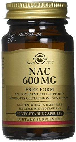 "Solgar ?"" Nac 600 Mg, 30 Vegetable Capsules"